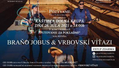 Koncert skupiny Vrbovskí víťazi